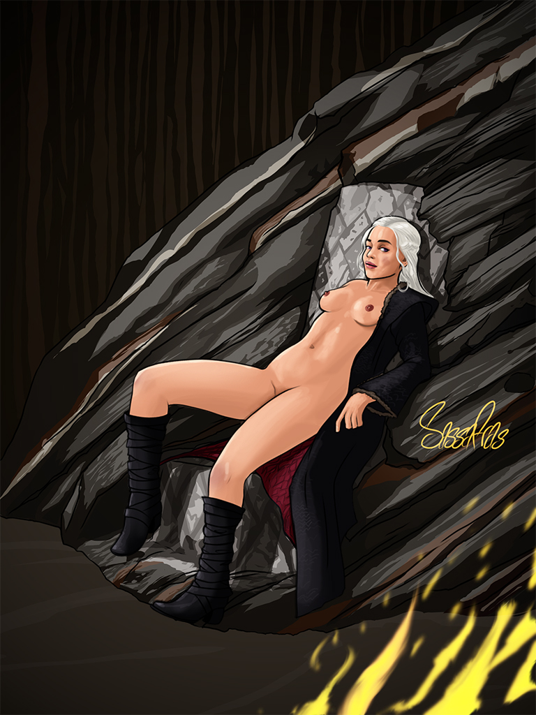 thrones daenerys of nude game How to draw anime penis