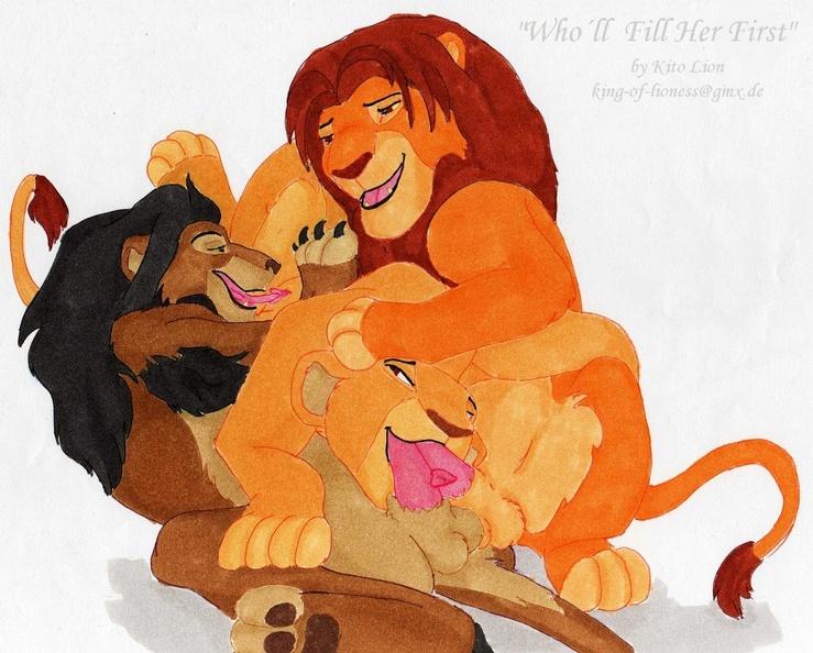 sarabi lion mufasa and king the Monstiongra vol.2 ~demons~