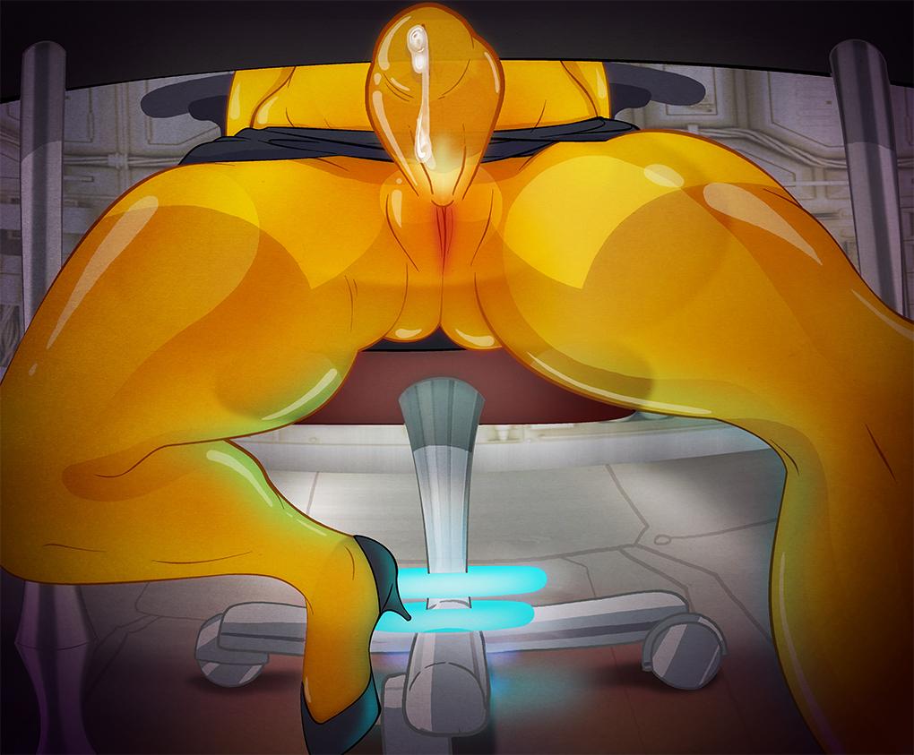 in space trials armor tainted Eroge h mo game kaihatsu zanma