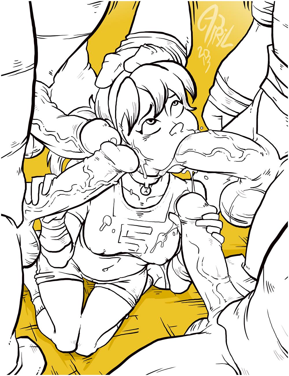 turtles teenage mutant e621 ninja Gakuen de jikan no tomare