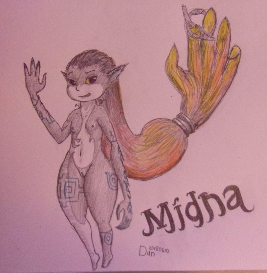 true form midna Shiro from no game no life