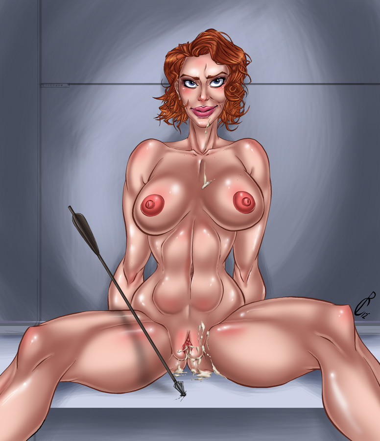 scarlett black nude johansson widow Peepoodo and the super friends