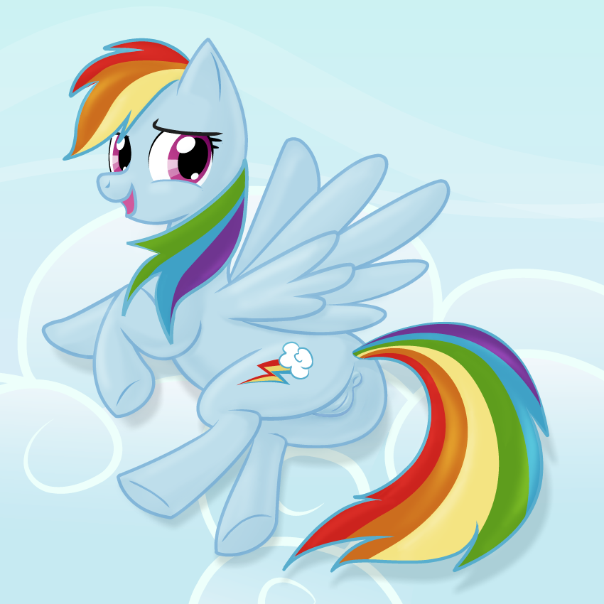 rainbow dash breeze zephyr and Cutie pie f is for family