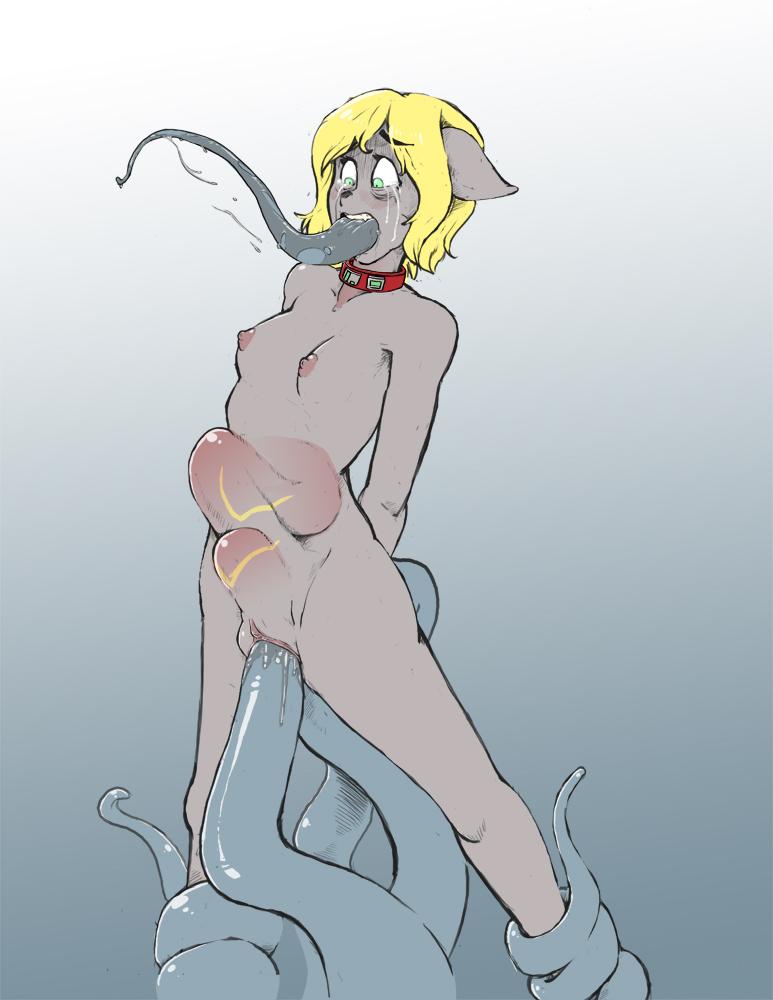 through tentacle way the hentai all All the way through horse hentai
