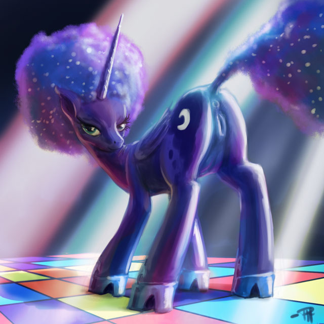 shores pony little my sapphire Darling in the franxx franxx