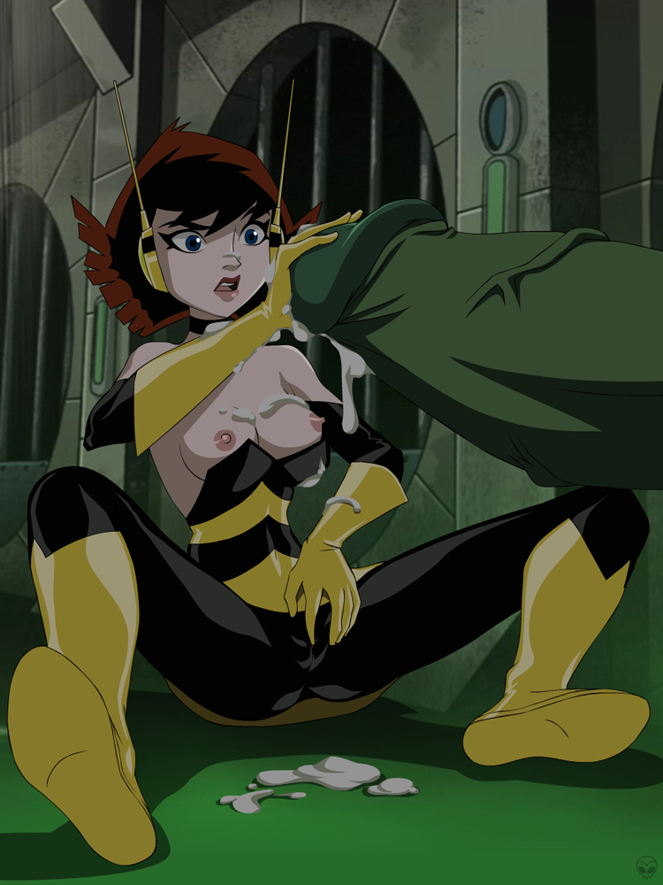 earth's avengers heroes mightiest wasp Ding-a-ling wolf