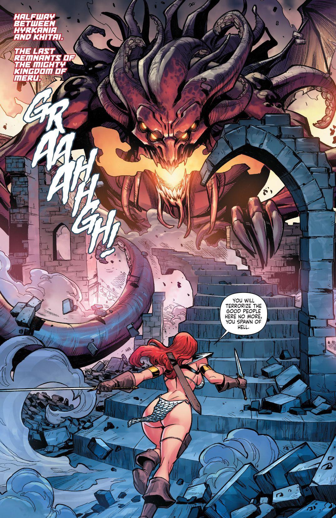 vs sonja red red monika Devil may cry 4 agnus