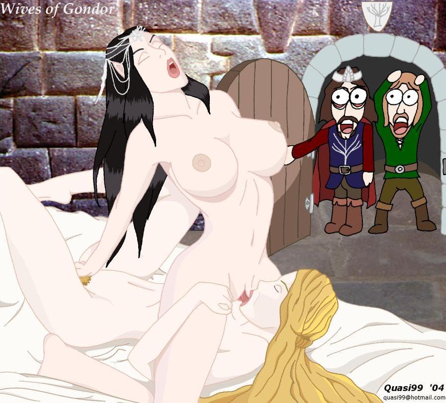 rings orcs lord of female the Cuphead baroness von bon bon