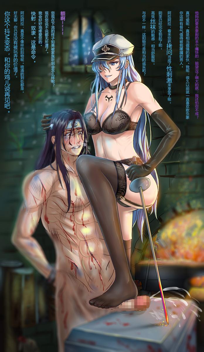 and tatsumi akame akame kill ga Aika r-16 virgin mission