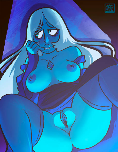 steven universe diamond blue from Android 18 and 21 fusion