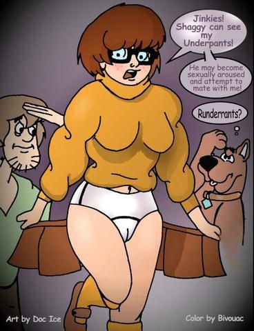 scooby porn comic doo lesbian Godlike naruto dbz crossover fanfiction