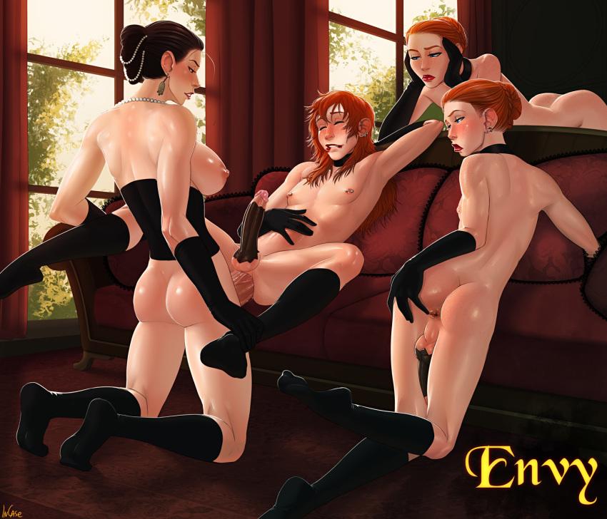nude deadly sins 7 merlin Shoujo kara shoujo e...