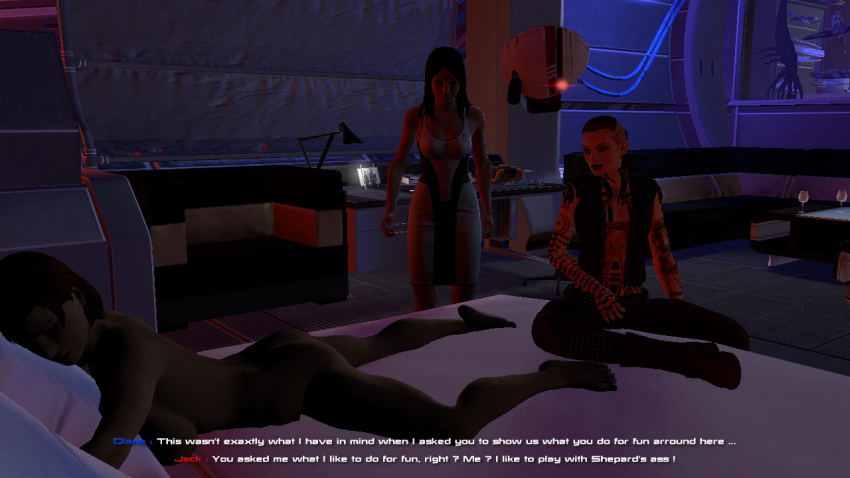 porn mass effect liara gif Girl shrinks out of clothes