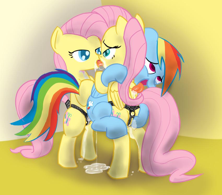 pony my little dash rainbow naked Akuma_no_riddle