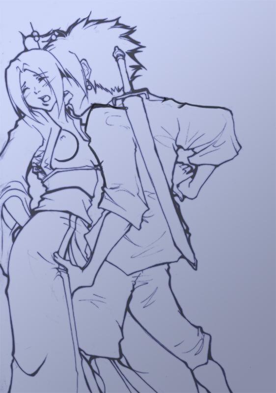 champloo jin and mugen samurai Maji de watashi ni koi shinasai s