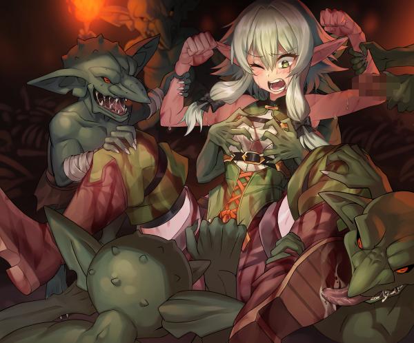scene goblin manga rape slayer Fire emblem heroes male byleth